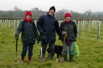 Lydie, Stewart and Lesley