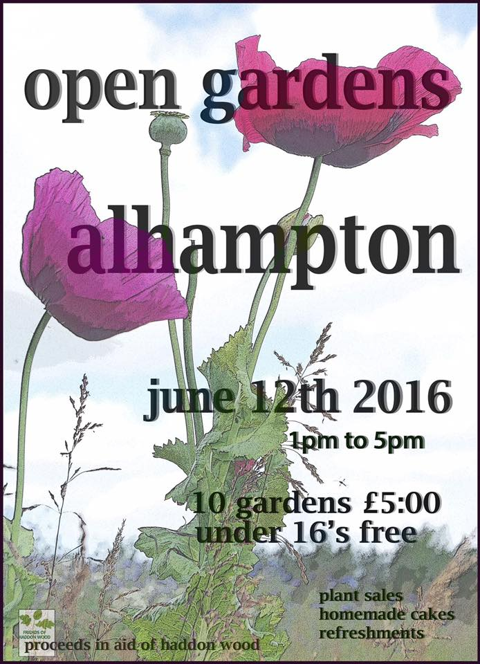 Open Gardens poster 2016
